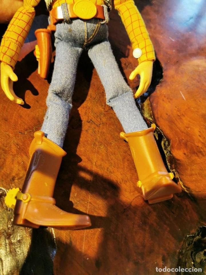 Figuras de acción: Figura Woody en trapo, hablador en ingles, Disney/pixar Thinkway funciona - Foto 5 - 198920793
