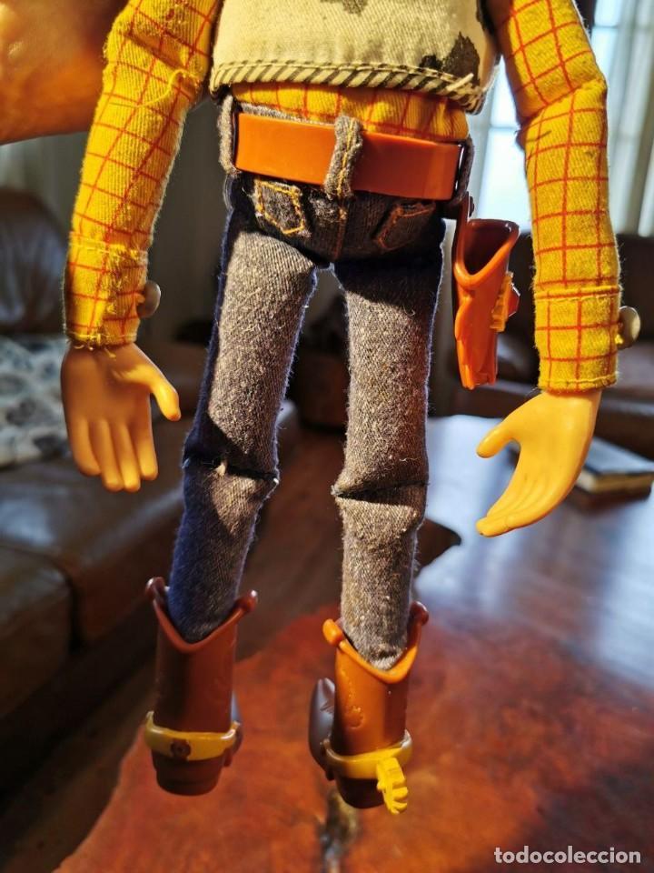 Figuras de acción: Figura Woody en trapo, hablador en ingles, Disney/pixar Thinkway funciona - Foto 7 - 198920793