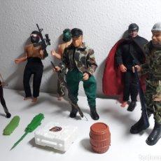 Figuras de acción: FIGURAS DE ACCIÓN ANTIGUAS TIPO MADELMAN ,BIG JIM,MEGO. Lote 199098033