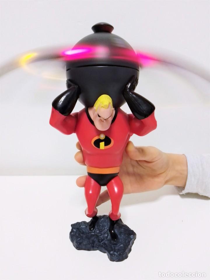Figuras de acción: Figura con mecanismo de Bob Parr, Mr. Increíble de la película Los Increíbles de Pixar Disney On Ice - Foto 3 - 199907906