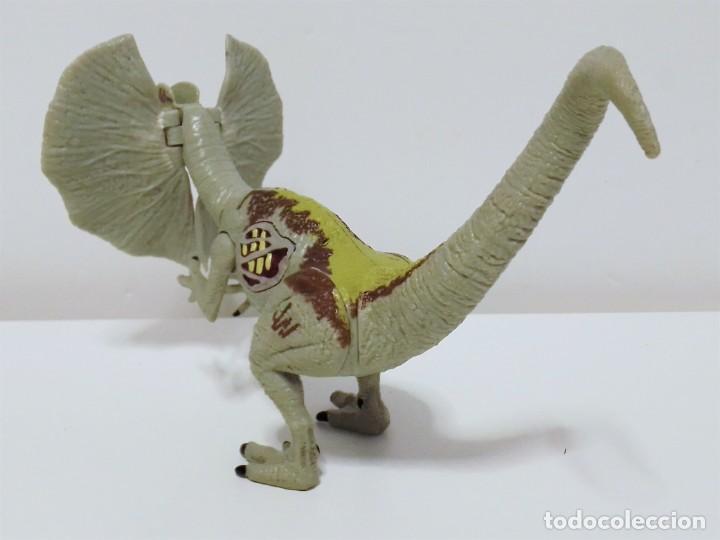 Figuras de acción: Figura de dinosaurio DILOPHOSAURUS de JURASSIC WORLD realizada por Hasbro en el año 2015 - Foto 3 - 203327877