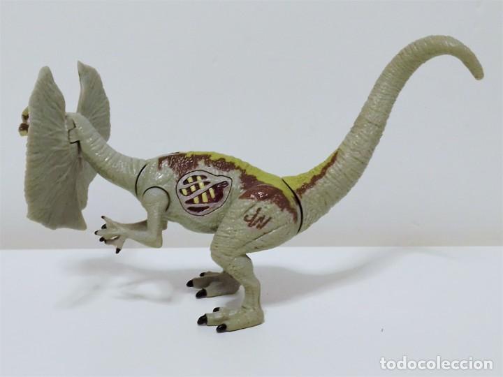 Figuras de acción: Figura de dinosaurio DILOPHOSAURUS de JURASSIC WORLD realizada por Hasbro en el año 2015 - Foto 4 - 203327877