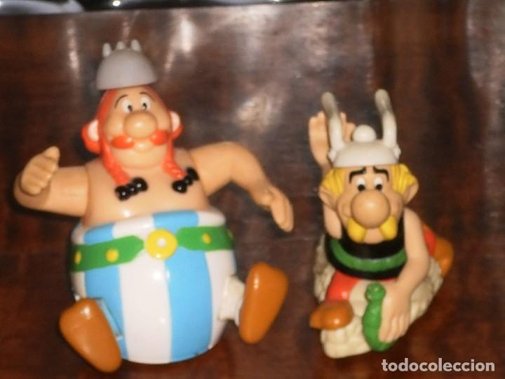 Figuras de acción: 2 FIGURAS- ASTERIX Y OBELIX – HAPPY MEAL- MC DONALDS- (Goscinny Uderzo) - Foto 3 - 204347193