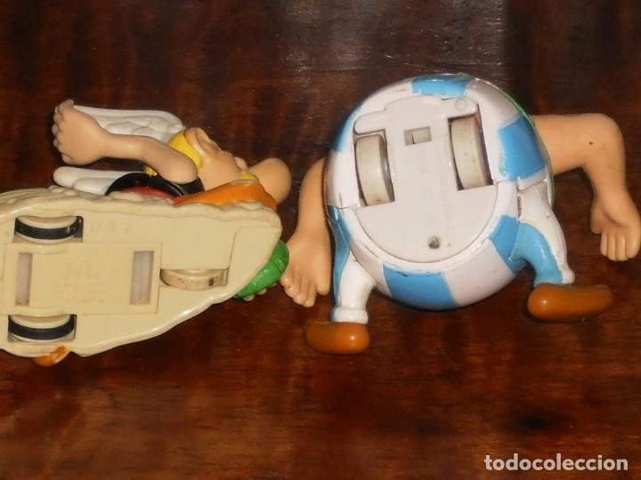 Figuras de acción: 2 FIGURAS- ASTERIX Y OBELIX – HAPPY MEAL- MC DONALDS- (Goscinny Uderzo) - Foto 6 - 204347193