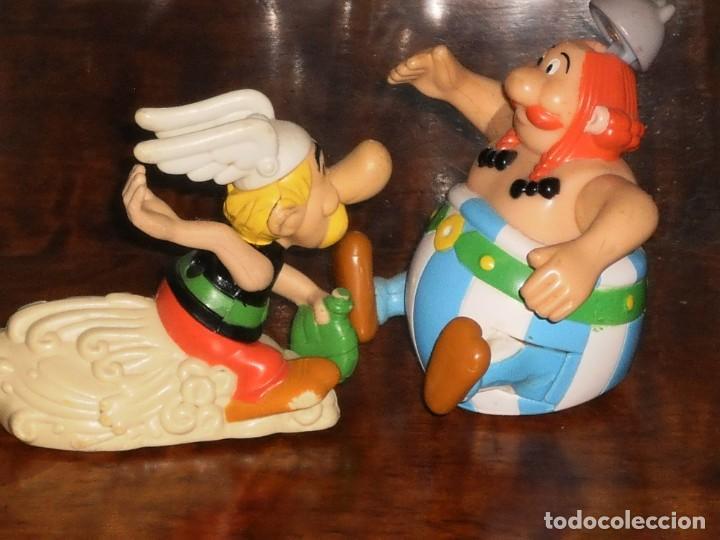 Figuras de acción: 2 FIGURAS- ASTERIX Y OBELIX – HAPPY MEAL- MC DONALDS- (Goscinny Uderzo) - Foto 11 - 204347193
