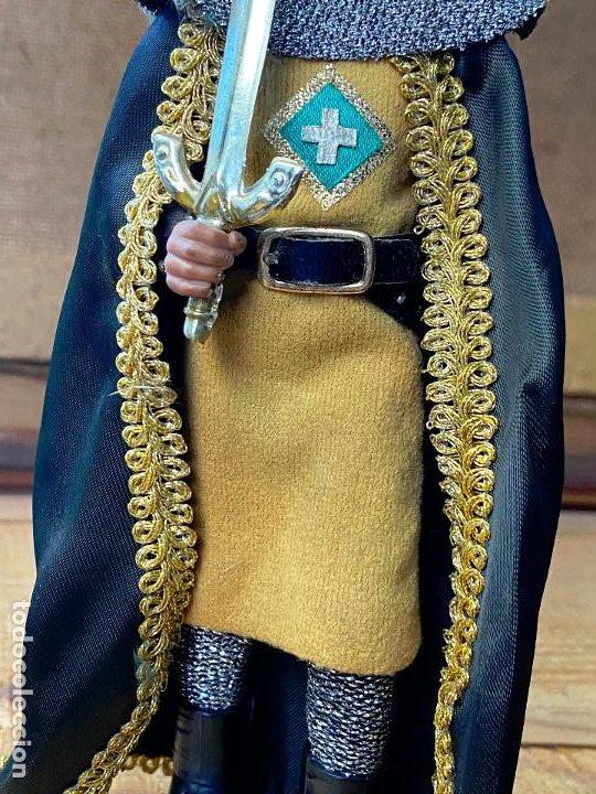 Figuras de acción: autentico madelman oriolano, caballero de orihuela - 19 cm de largo - Foto 3 - 205786672