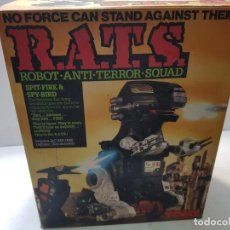 Figuras de acción: ROBOT ANTI TERROR SQUAD DE TOMY REF 5319 SIN ABRIR. Lote 206824141
