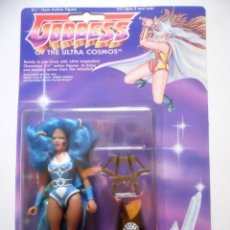 Figuras de acción: SHERA GODDESS OF THE ULTRA COSMOS MOTU SHE-RA BOOTLEG GODDESS OF SODALITE LUCKY BELL 1992. Lote 207233823