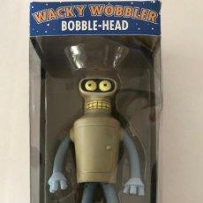 Figuras de acción: BENDER FUTURAMA WACKY WOBBLER BOBBLE-HEAD NEW NUEVO FUNKO. Lote 207288153