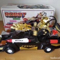 Figuras de acción: ANTIGUO ROBOT COSMIC RAIDER FORCE 1985 EN CAJA FUNCIONANDO. Lote 207952243