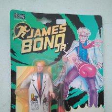 Figuras de acción: JAMES BOND JR. - FIGURA I.Q. - NUEVO A ESTRENAR - EN BLISTER - DE HASBRO 1992. Lote 207978343