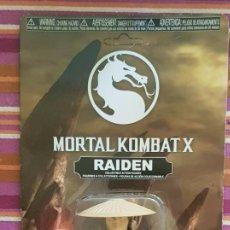 Figuras de acción: RAIDEN MORTAL KOMBAT X SAVAGE WORLD NEW NUEVO EN BLISTER REGULAR VERSION. Lote 160913746