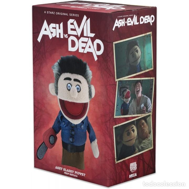 Figuras de acción: Marioneta Neca ASH VS EVIL DEAD Ashy Slashy Prop Réplica - Foto 2 - 210051936