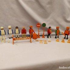 Figuras de acción: LOTE 10 CEFA-BOYS + ACCESORIOS - AÑOS 70 - PLAY-BIG - CEFA BOYS. Lote 210251225