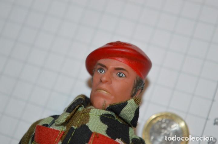 Figuras de acción: ANTIGUO MUÑECO MILITAR - TONG Ind. Co. USA & UK / Años 60/70 - Tipo/similar a MEGO - Act DANNY DARE - Foto 2 - 211772283