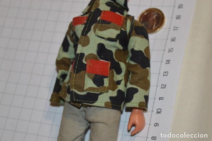 Figuras de acción: ANTIGUO MUÑECO MILITAR - TONG Ind. Co. USA & UK / Años 60/70 - Tipo/similar a MEGO - Act DANNY DARE - Foto 3 - 211772283