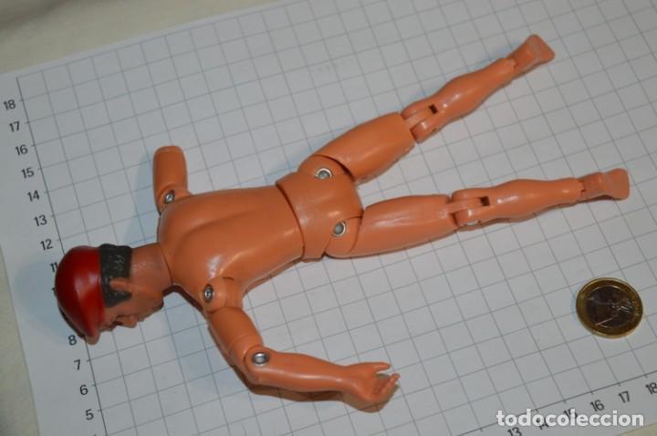 Figuras de acción: ANTIGUO MUÑECO MILITAR - TONG Ind. Co. USA & UK / Años 60/70 - Tipo/similar a MEGO - Act DANNY DARE - Foto 8 - 211772283
