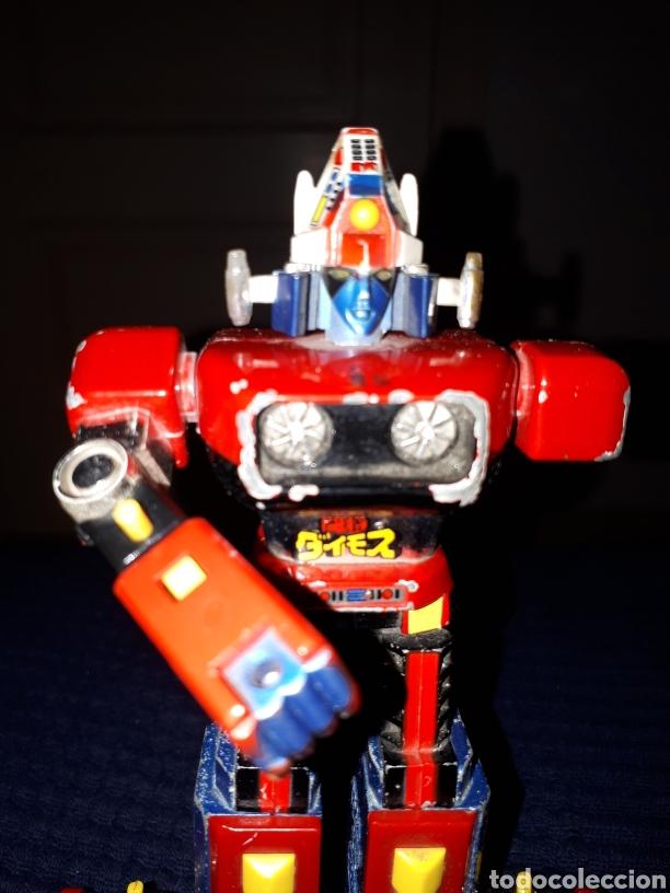 Figuras de acción: Robot TOSHO DAIMOS TIPO MAZINGER Z JAPAN 84 leer descripción - Foto 3 - 212328901