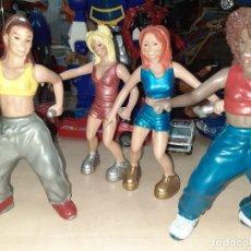 Figuras de acción: SPICE GIRLS.LOTE DE 4 FIGURAS BOTES DE COLONIA.AÑOS 90.. Lote 214175160