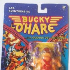 Figuras de acción: LAS AVENTURAS DE BUCKY O'HARE PATUERTO, EN BLISTER NUEVO A ESTRENAR. Lote 215195496