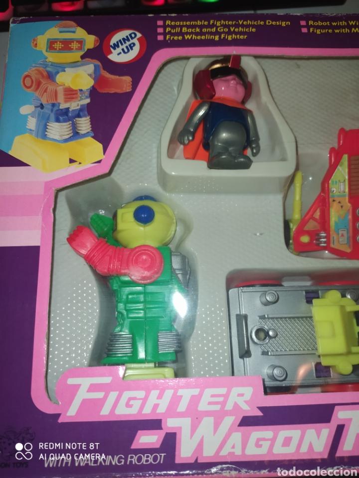 Figuras de acción: Fighter Wagon Playset Dragon Toys VG .AÑOS 80. En blister sin abrir - Foto 2 - 215479636
