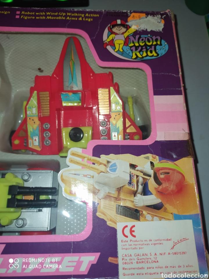 Figuras de acción: Fighter Wagon Playset Dragon Toys VG .AÑOS 80. En blister sin abrir - Foto 3 - 215479636