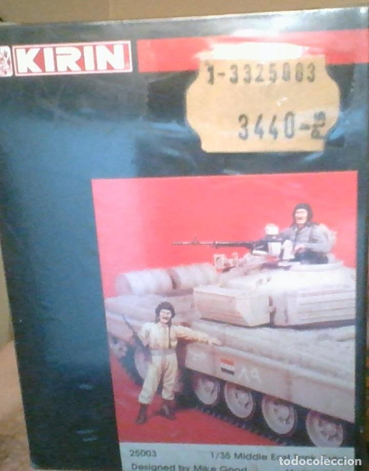 25003 KIRIN MIDDLE EAST SADAMM TANK IRAQUI CREWS RESINA PRECINTADO / SEALED. (Juguetes - Figuras de Acción - Otras Figuras de Acción)