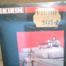 Figuras de acción: 25003 KIRIN MIDDLE EAST SADAMM TANK IRAQUI CREWS RESINA PRECINTADO / SEALED.. Lote 215824688