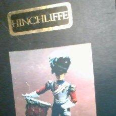 Figuras de acción: MTO/6 HINCHLIFFE PLOMB 130MM 1828 LIFE GUARD TRUMPETER IN BEARSKIN.. Lote 215826218
