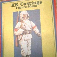 Figuras de acción: KK9006 KK CASTING 90MM. PANZER GRENADIER WINTER UNIFORM. RESINA.. Lote 215830598