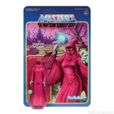 Figuras de acción: MASTERS OF THE UNIVERSE FIGURA REACTION WAVE 5 SHADOW WEAVER. Lote 218778397