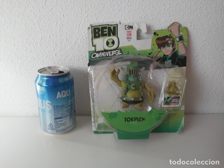 Figura Toepick Ben 10 Omniverse Bandai En Blist Kaufen Andere Actionfiguren In Todocoleccion 219185937