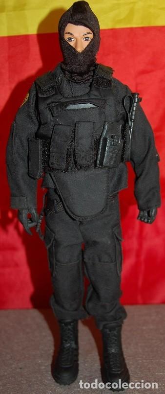 FIGURA ACTION POLICIA DE ELITE SWAT TEAM CLEVELAND POLICE (Juguetes - Figuras de Acción - Otras Figuras de Acción)