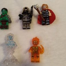 Figuras de acción: LOTE 4 LEGO COMPATIBLE MARVEL MINI FIGURAS NUEVAS A ESTRENAR. Lote 220951210