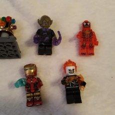 Figuras de acción: LOTE 5 LEGO COMPATIBLE MARVEL MINI FIGURAS NUEVAS A ESTRENAR. Lote 220951246