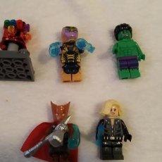 Figuras de acción: LOTE 6 LEGO COMPATIBLE MARVEL MINI FIGURAS NUEVAS A ESTRENAR. Lote 220951270