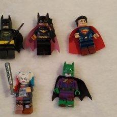 Figuras de acción: LOTE 2 LEGO COMPATIBLE DC SUPERHEROES MINI FIGURAS NUEVAS A ESTRENAR. Lote 220951321
