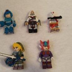 Figuras de acción: LOTE LEGO COMPATIBLE VIDEOJUEGOS MEGAMAN ZELDA KRATOS FIGURAS NUEVAS A ESTRENAR. Lote 220951823