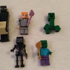 Figuras de acción: LOTE 1 LEGO COMPATIBLE MINECRAFT FIGURAS NUEVAS A ESTRENAR. Lote 220951920