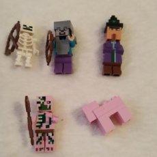 Figuras de acción: LOTE 2 LEGO COMPATIBLE MINECRAFT FIGURAS NUEVAS A ESTRENAR. Lote 220951941