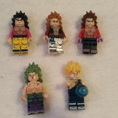 Figuras de acción: LOTE 1 LEGO COMPATIBLE DRAGON BALL FIGURAS NUEVAS A ESTRENAR. Lote 220951977