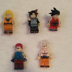 Figuras de acción: LOTE 2 LEGO COMPATIBLE DRAGON BALL FIGURAS NUEVAS A ESTRENAR. Lote 220951990