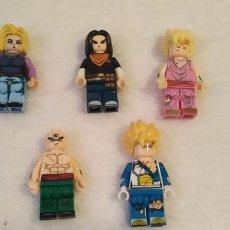 Figuras de acción: LOTE 3 LEGO COMPATIBLE DRAGON BALL FIGURAS NUEVAS A ESTRENAR. Lote 220952011