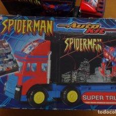 Figuras de acción: CAMION SPIDER-MAN COCHE. Lote 221609107