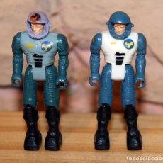 Figuras de acción: STARCOM - 86 CII - LOTE DE DOS FIGURAS: PILOTO SHADOW BANDIT Y TOM BANDIT WALDRON - 1987 / 1988. Lote 221638035