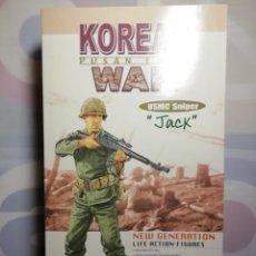 """Figuras de acción: FIGURA/MUÑECO KOREAN WAR USMC FRANCOTIRADOR """"JACK"""" 1/6 DRAGON, 21 CENTURY TOYS. Lote 221962327"""