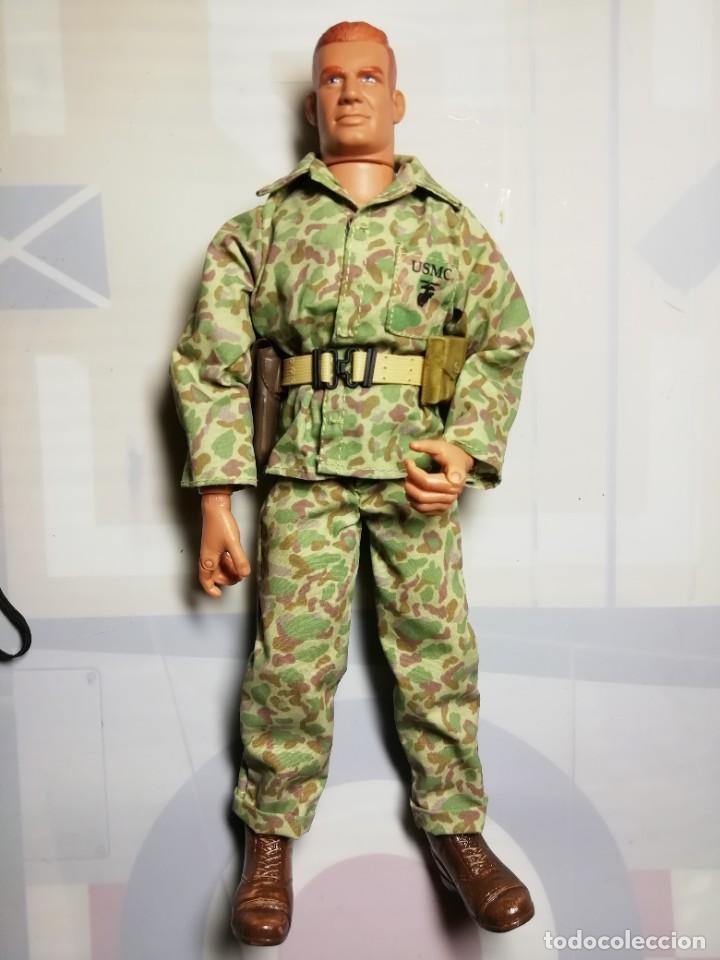 USMC WWII GI JOE HASBRO 2001 GI JOE 1/6 (Juguetes - Figuras de Acción - Otras Figuras de Acción)