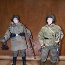 Figuras de acción: LOTE 2 SOLDADOS NAZIS DRAGON. Lote 222836498