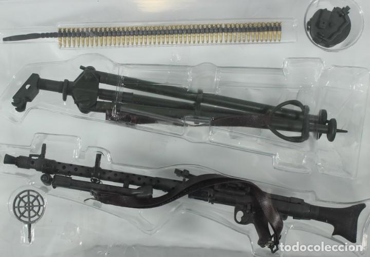 Figuras de acción: Accesorios figuras Dragón, 1/6, equipamiento alemán 2ª Guerra Mundial, MG-34 ref. 71127, Dragón - Foto 2 - 222847277