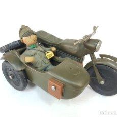 Figuras de acción: BMW, DKW CON SIDECAR DE CHERILEA. AÑOS 60.. Lote 222915771